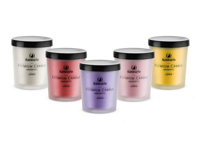 Producto #075 Aromatic Candle (Glass) x 6 u 7x5.7 cm