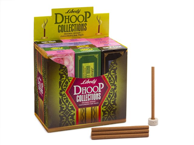 Producto #965 Dhoop Liberty (sin palo) x12 c.
